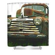 Rustic Mercury Shower Curtain by Randy Harris