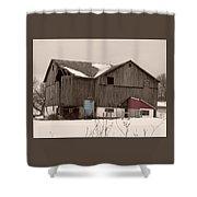 Rustic Ruins Shower Curtain