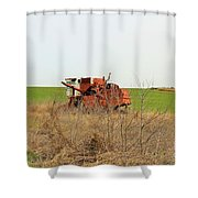 Rustic018 Shower Curtain