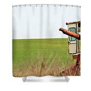 Rustic019 Shower Curtain