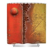 Rusting Shower Curtain