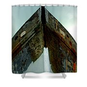 Rusty Bow Shower Curtain
