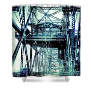 Rusty Bridge Shower Curtain