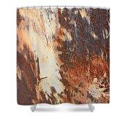 Rusty Drum #1 Shower Curtain