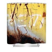 Rusty Dumpster#8 Shower Curtain