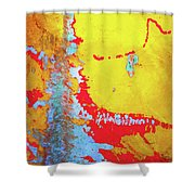Rusty Expressions Shower Curtain