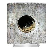 Rusty Hole Shower Curtain