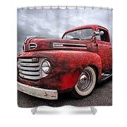 Rusty Jewel - 1948 Ford Shower Curtain