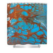 Rusty Lace Shower Curtain