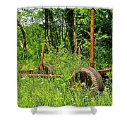 Rusty Object 2 Shower Curtain