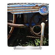 Rusty Old Bicycle . 7d15946 Shower Curtain