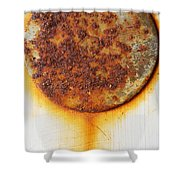 Rusty One Shower Curtain