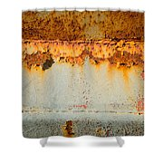 Rusty Peel Shower Curtain