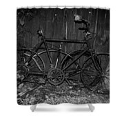 Rusty Ride Shower Curtain