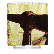 Rusty Times Shower Curtain