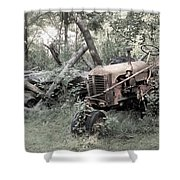 Rusty Tractor 2  Shower Curtain