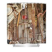 Rusty Treasures Photograph Shower Curtain