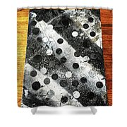 Rusty Winter Shower Curtain