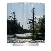 Ruunaankosket Shower Curtain