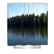 Ruutanajarvi Shower Curtain