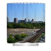RVA Shower Curtain