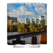 Rva Sunset Shower Curtain