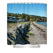 Rvs At The Beach Shower Curtain