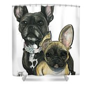 Ryan 3865 Shower Curtain
