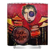Ryan Macmillan And His Drums Shower Curtain