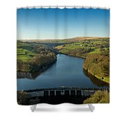 Ryburn Reservoir Shower Curtain