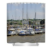 Ryde Harbour Shower Curtain