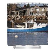 Rye Harbor - Rye New Hampshire Usa Shower Curtain