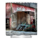 Rye Valley Stock Farm Shower Curtain
