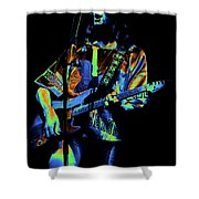 S#33 Enhanced In Cosmicolors #2 Shower Curtain
