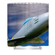 Saber Jet Shower Curtain