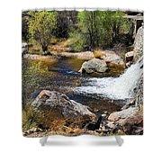 Sabino Creek Falls Shower Curtain