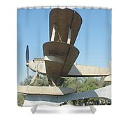 Sacadura Cabral And Gago Coutinho Monument Shower Curtain