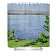Sacandaga Lake Shower Curtain