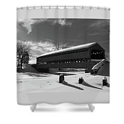 Sach's Covered Bridge Shower Curtain