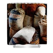 Sacks Of Feed Shower Curtain