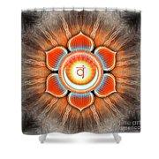 Sacral Chakra - Series 4 Shower Curtain
