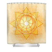 Sacral Chakra Series Two Shower Curtain