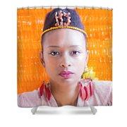 Sacral  Shower Curtain