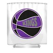 Sacramento Kings Retro Shirt Shower Curtain