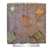 Sacred Aum Shower Curtain