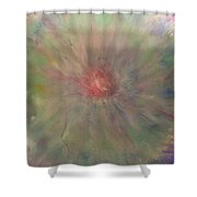 Sacred Center Shower Curtain