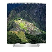 Sacred City Of Machu Picchu Shower Curtain