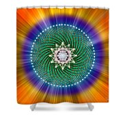 Sacred Geometry 102 Shower Curtain