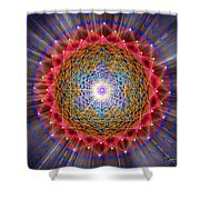 Sacred Geometry 146 Shower Curtain