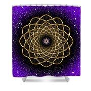 Sacred Geometry 473 Shower Curtain